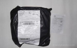 Paket sebelum dibuka